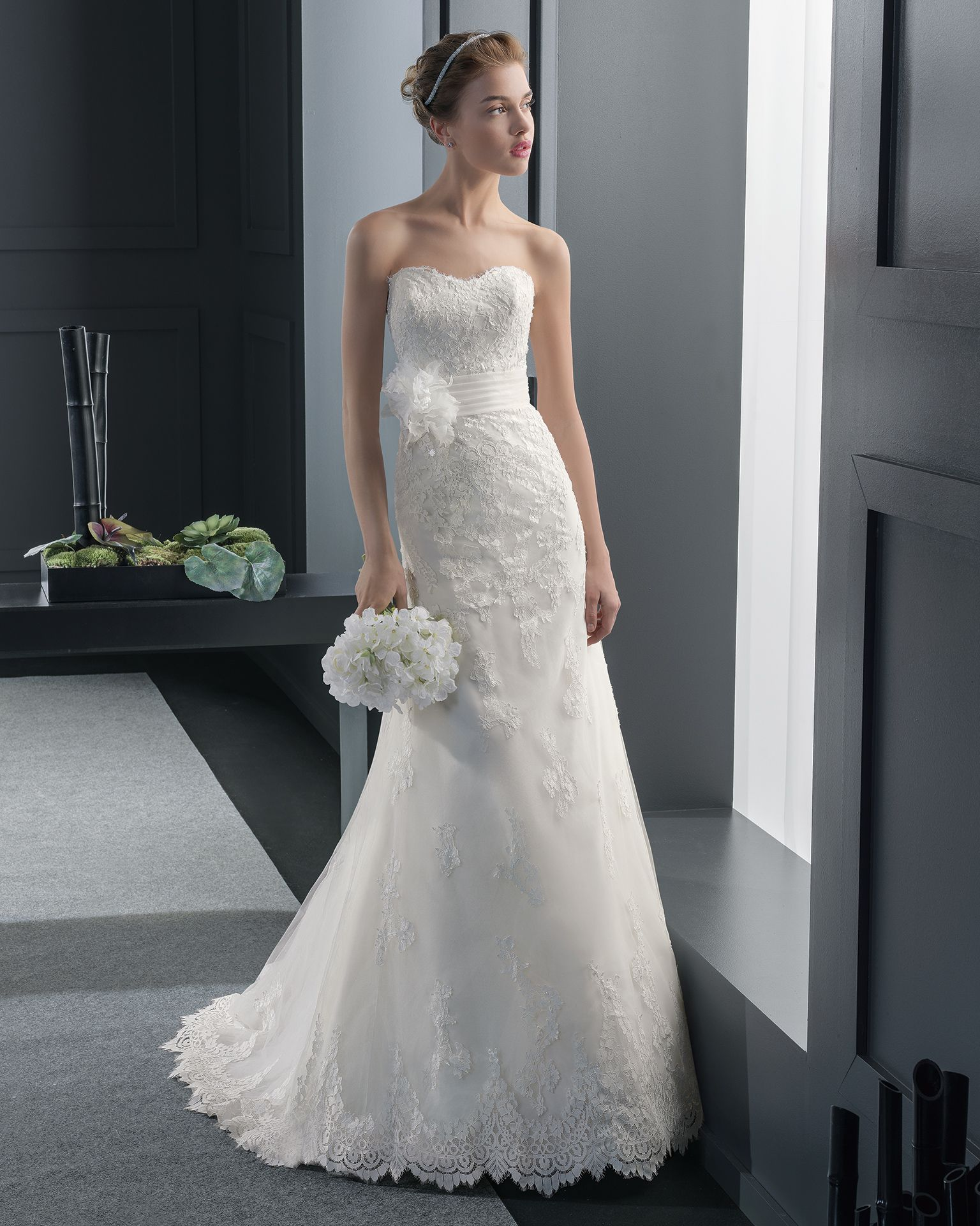 Rania vestido de novia two Rosa Clara