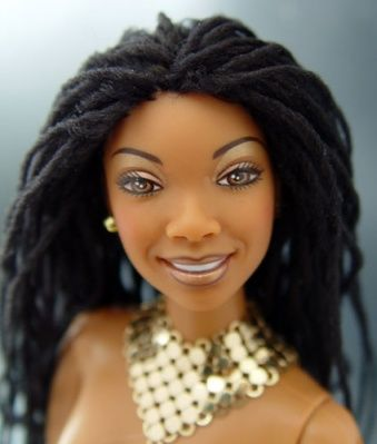 Gorgeous Black Dolls With Styled Natural Hair And Braids We Love This Idea So Much Because Representation Ma Natural Hair Doll Barbie Hair Natural Hair Styles