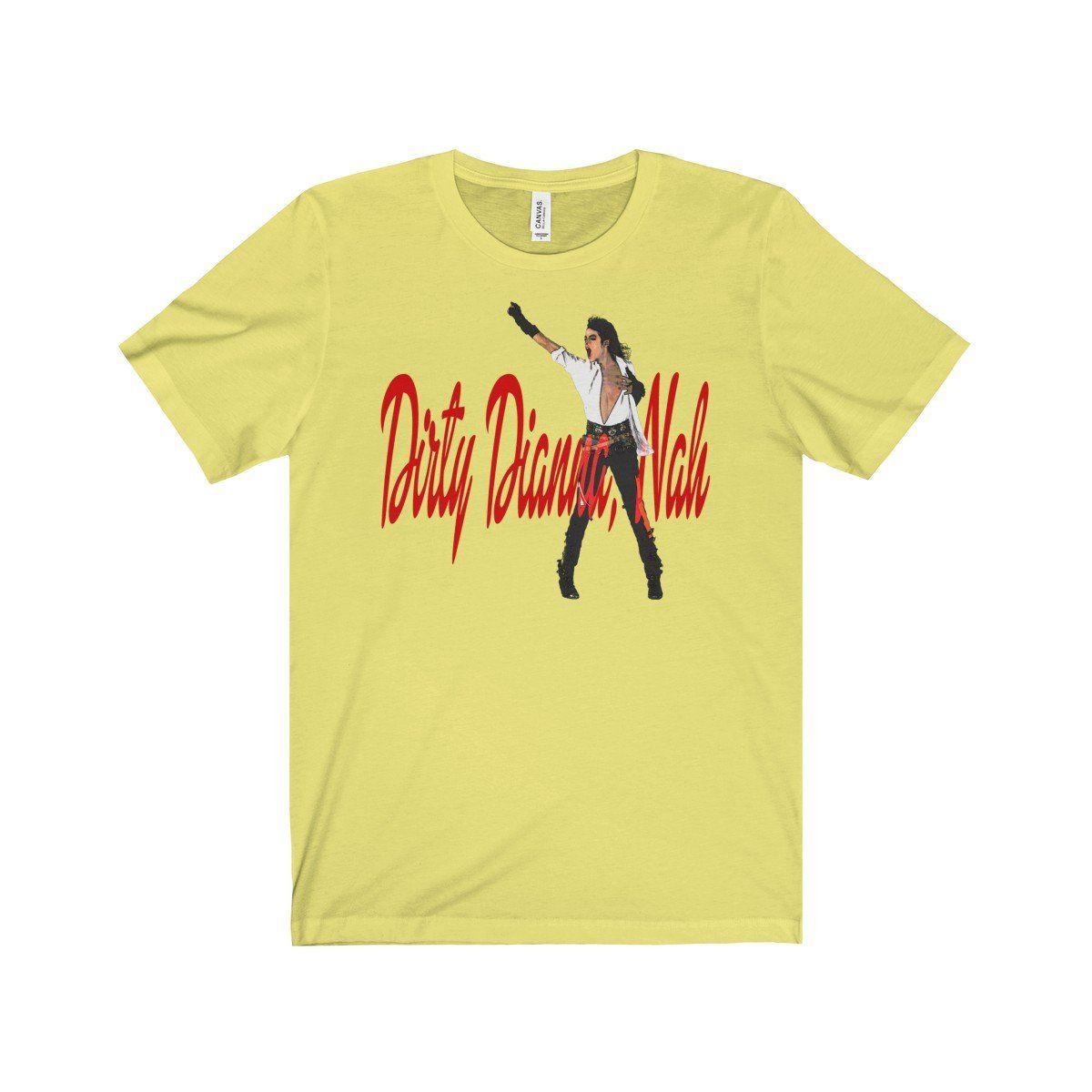 f5663d3b934f3 Dirty Diana Unisex Jersey Short Sleeve Tee   Michael Jackson shots ...