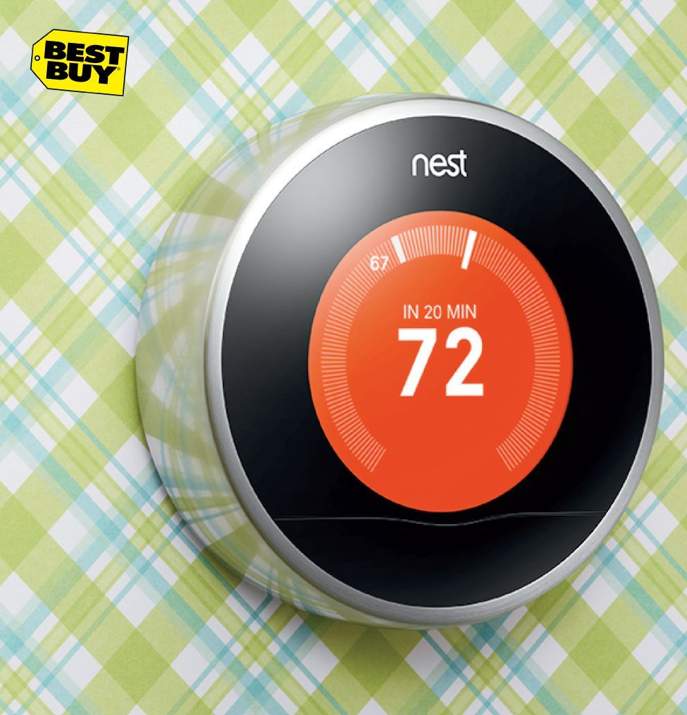 Make life simpler with the Nest thermostat from @bestbuy. It will learn your temperature preferences and make sure you're always comfortable. #paypalit for a smooth and seamless purchase.