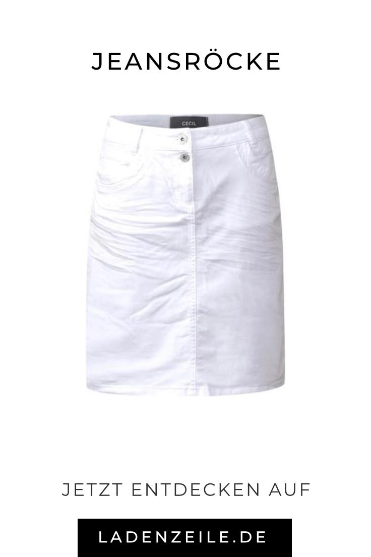 weiße jeansröcke   pinterest