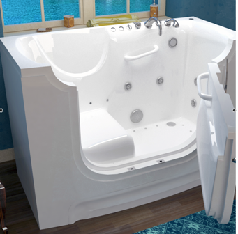 3060 Slide In Handicapped Tubs   Wheelchair Accessible For Disabled. The  Ideal Walk In Tub For Persons Using A Wheelchair.
