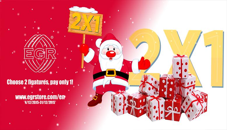 2x1 #Navidad  Te ofrecemos el placer de disfrutar esta Navidad de nuestra promoción... Abrazaderas EGR para tu #saxo o #clarinete.