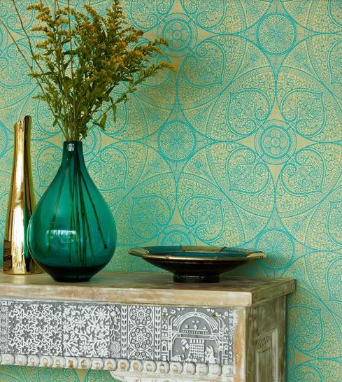 home decoration wallpaper eijffinger google zoeken aqua and lime wallpaper pattern. Black Bedroom Furniture Sets. Home Design Ideas