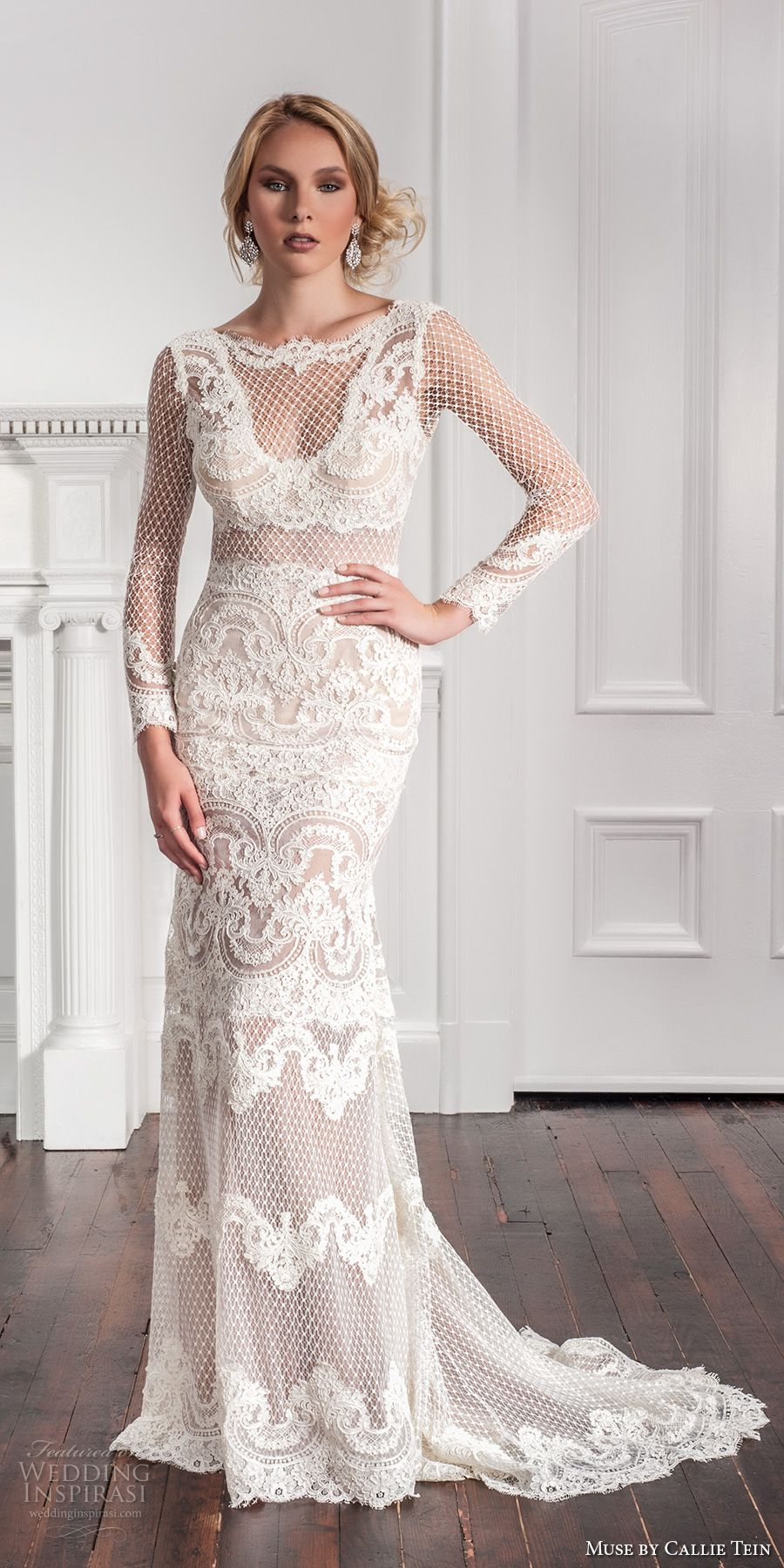 Muse by callie tein fall wedding dresses chapel train