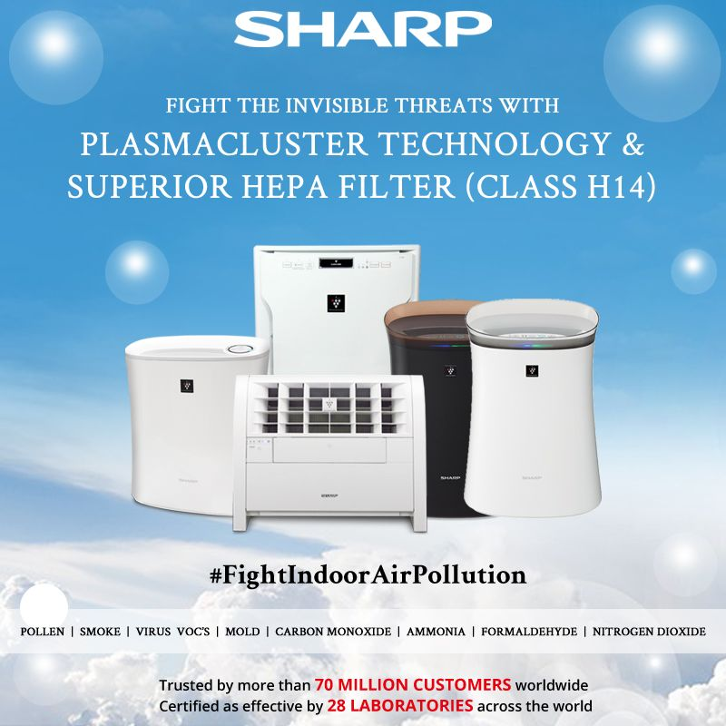 Protect Your Family From The Hidden Dangers In The House With Superiorairpurifiertechnology From Sharp Besm Indoor Air Pollution Sharp Air Purifier Pure Air