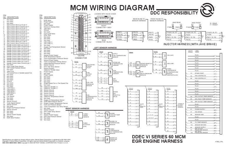 [DIAGRAM_38IU]  1533596170 V 1 For Ddec Vi Wiring Diagram | Detroit diesel, Detroit,  Detroit motors | Ddec 6 Wiring Diagram |  | Pinterest