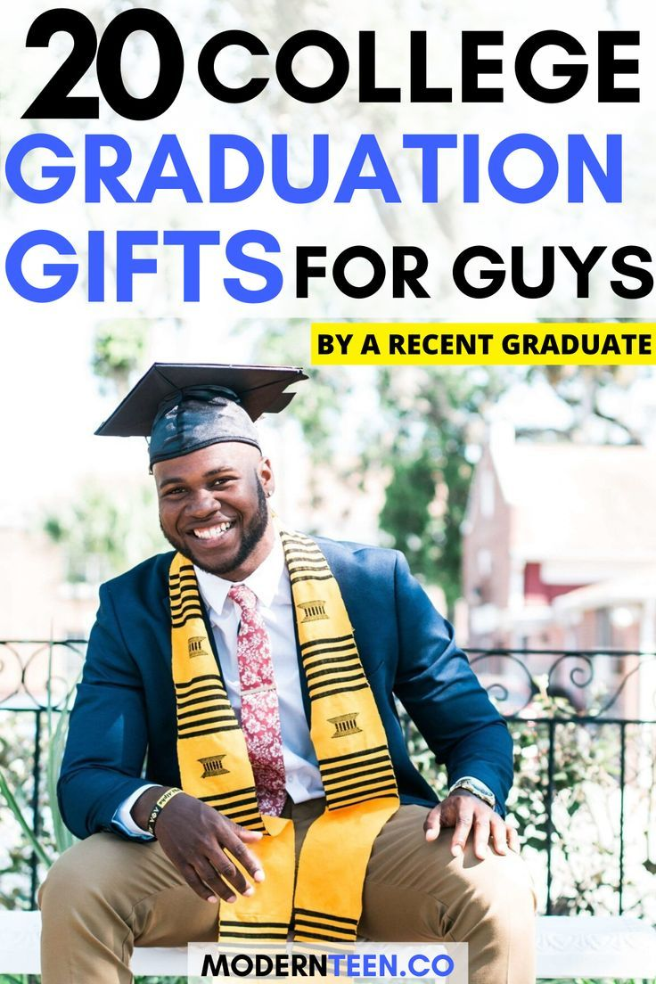 College Graduation Gift Ideas For Son: 20 Awesome College Graduation Gifts For Guys (by A Recent