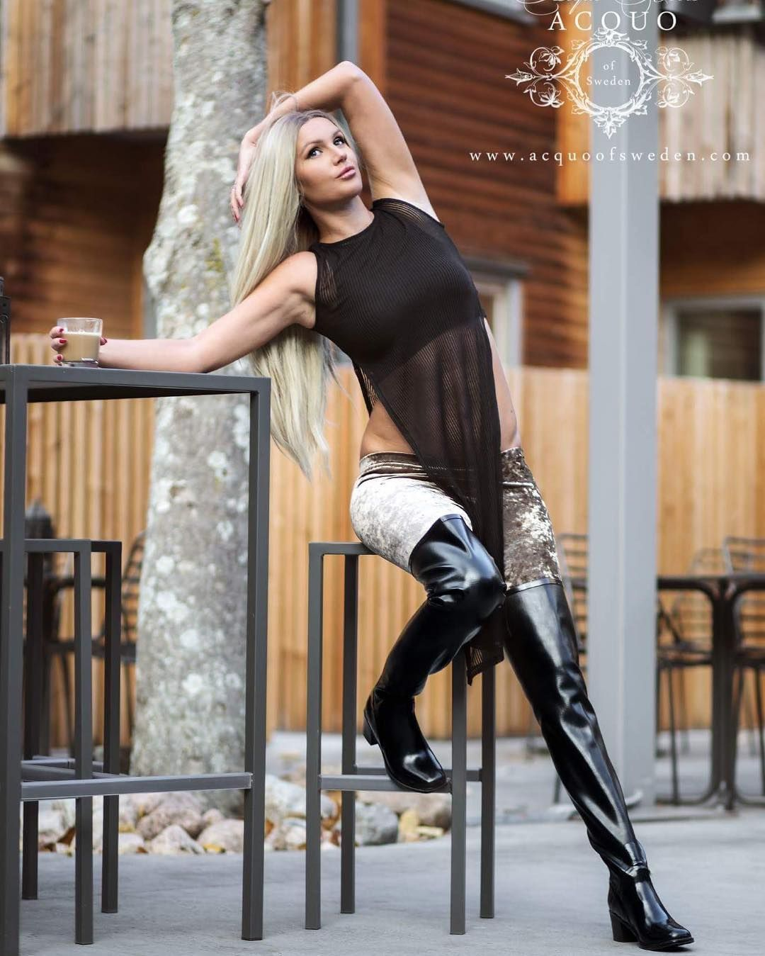Stunning Rubber Boots And Fashion Handbag Www Acquoofsweden