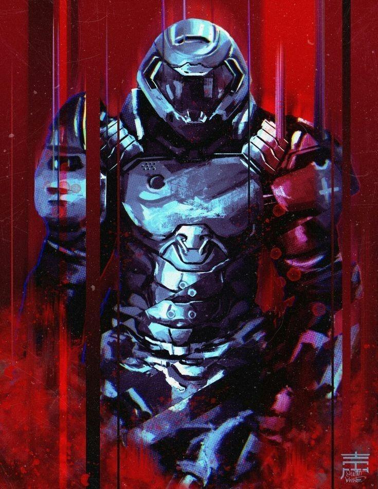 Pin by Caleb Edmonson on Scary in 2020 Doom 2016, Slayer