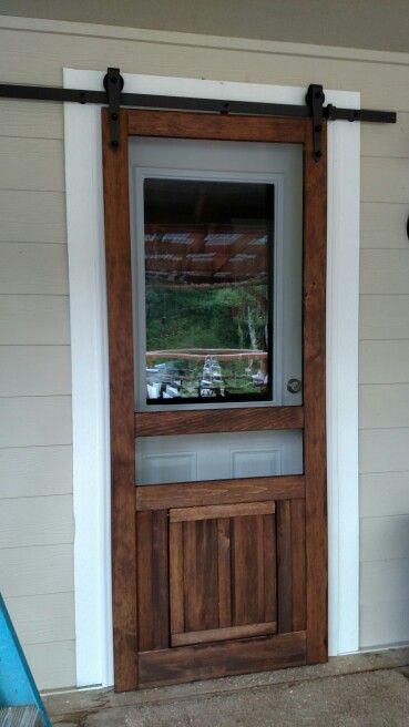 Barn Door Screen Exterior Barn Doors Diy Screen Door Barn Door