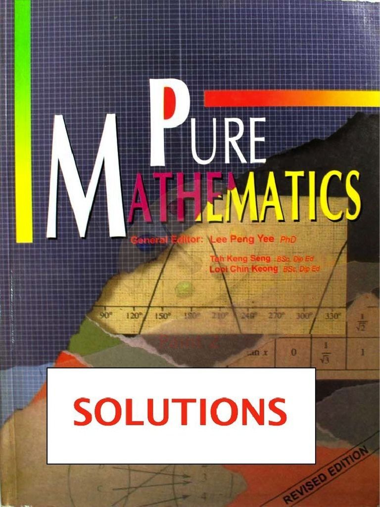 Concise Introduction To Pure Mathematics Solutions Manual