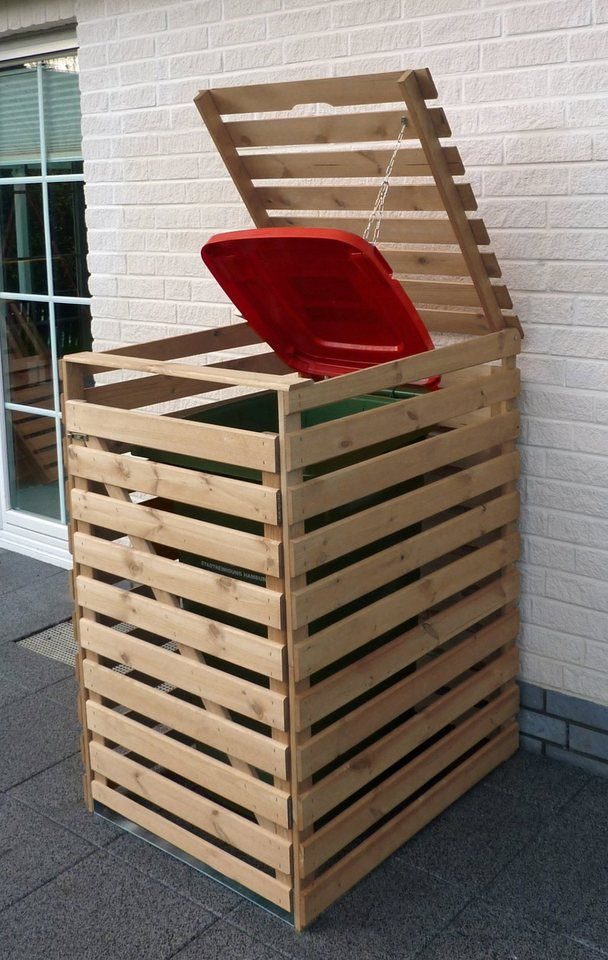 PROMADINO Mülltonnenbox »Vario V«, für 1 x 240 l