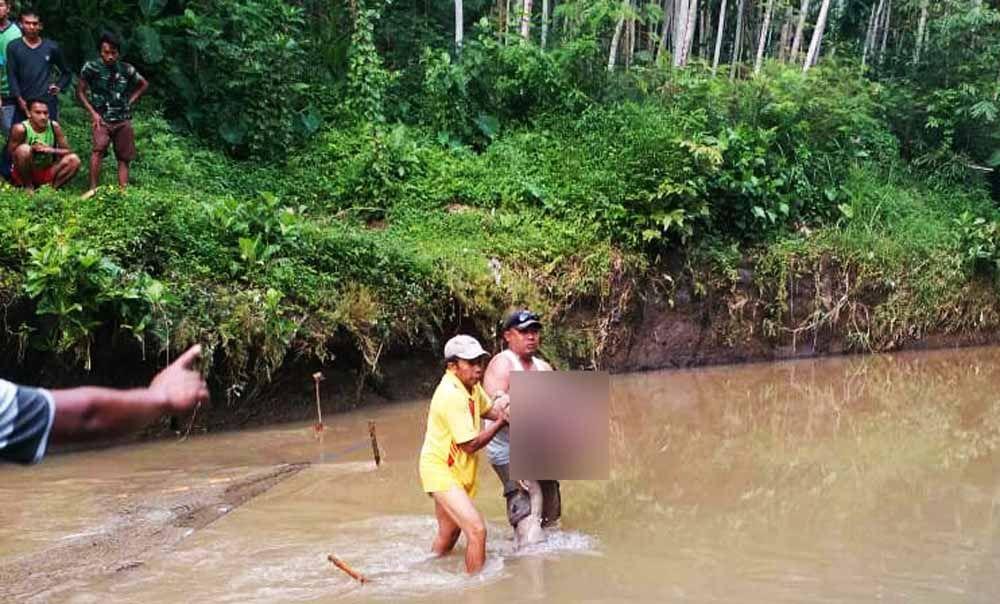 Mandi Di Sungai Mbah Wagiman Ditemukan Tewas Tersangkut Jaring Ikan Sungai Ikan Mandi