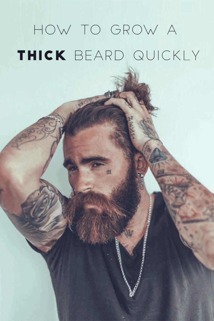 How to Grow a Thicker Beard