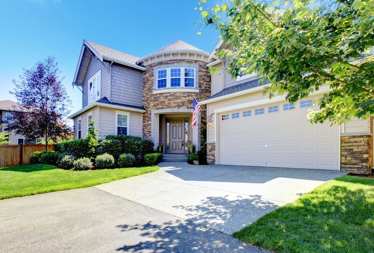 Fast And Easy Garage Door Upgrade For Instant Curb Appeal Just To Make A Plain Garage Door Look Custom Door Upgrade Garage Doors Garage Door Spring Repair