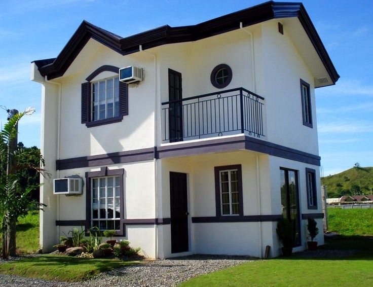 Fachadas modernas de dos pisos sin cochera casas for Planos casas pequenas modernas
