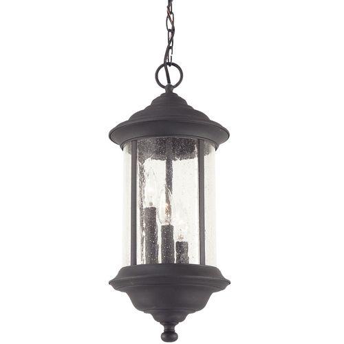 Dolan Designs Lighting Hanging Outdoor Pendant | 919-50 | Destination Lighting  sc 1 st  Pinterest & Seeded Glass Outdoor Hanging Light Black 19-1/2-inch Dolan Designs ...