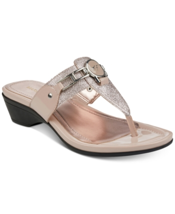 5f9b4026b0563a Marc Fisher Amina Thong Sandals Women Shoes in 2019
