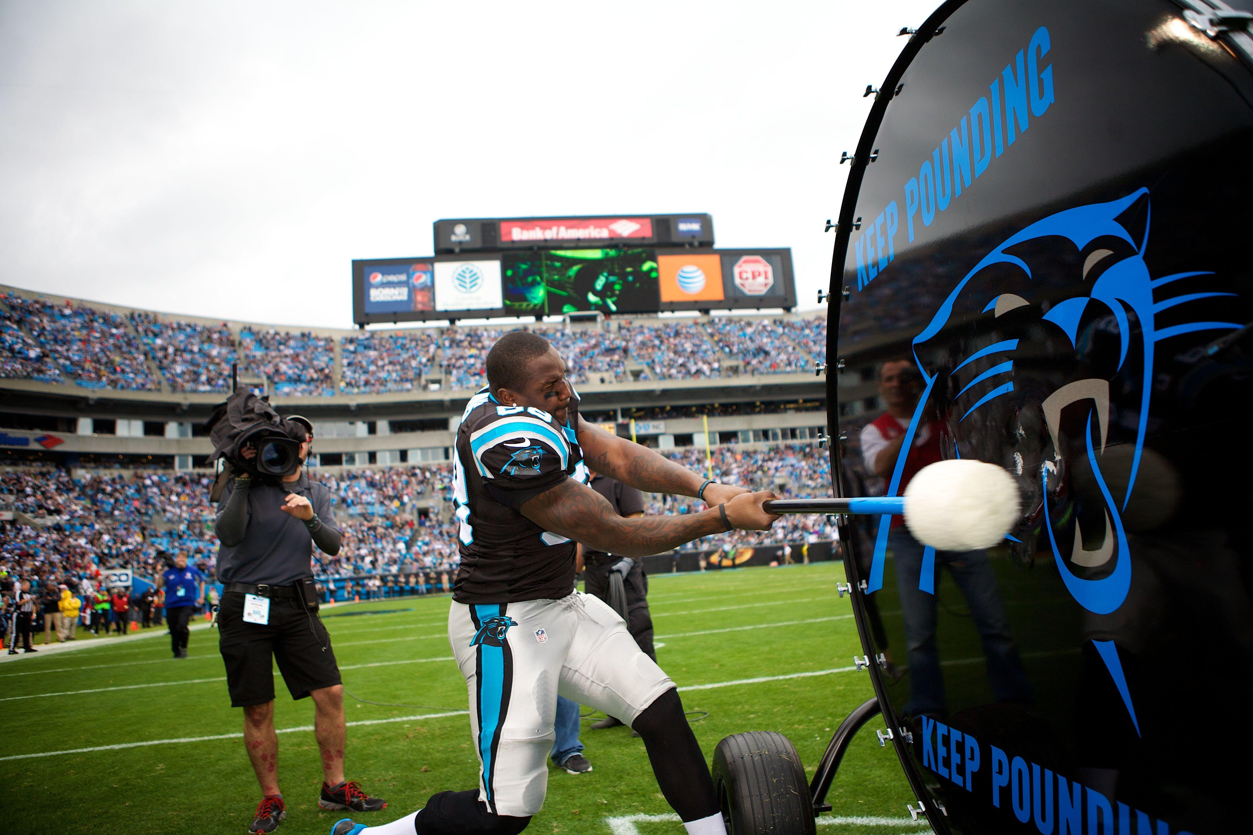 Panthers LB Thomas Davis Keep Pounding Drummers