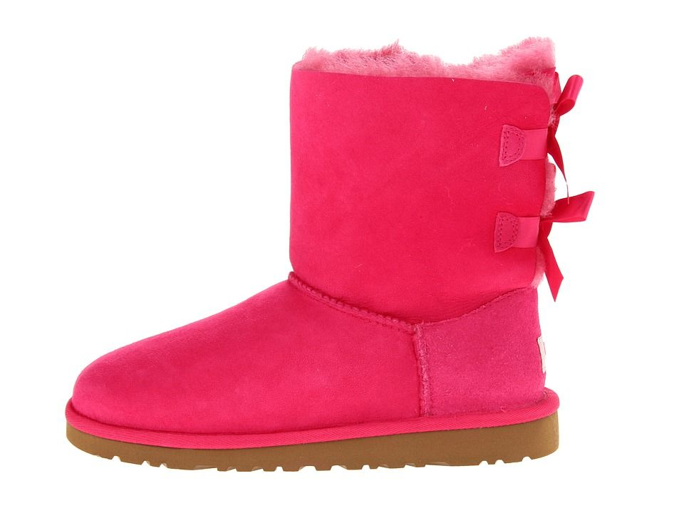 Ugg Girls Winter Boots Cerise