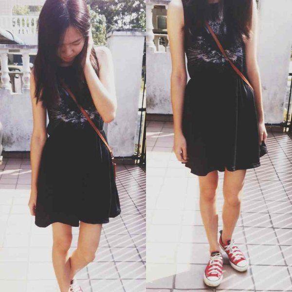 My Topshop dress by Mandy Chang