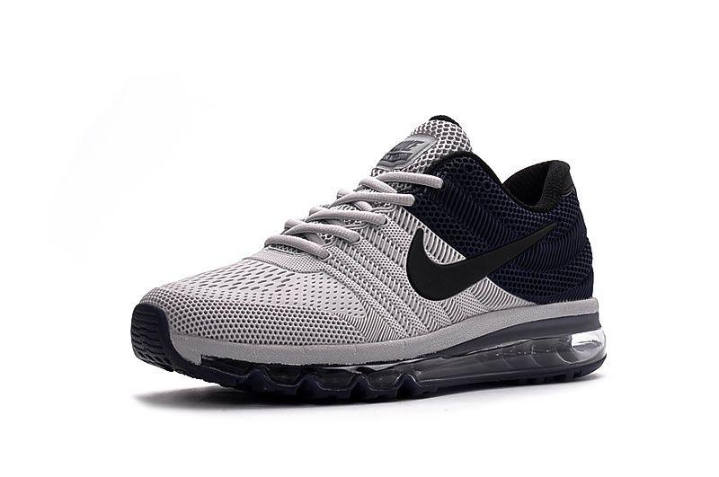 on sale bdadd 2c367 Men s Nike Air Max 2017 Shoes Grey Navy 849560-407