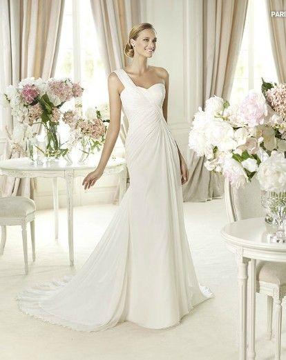 Buy Wedding Dress Pronovias Paris 2013 At Cheap Price