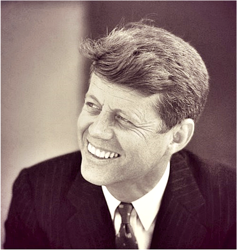 John Fitzgerald Kennedy (May 29, 1917 – November 22, 1963),  35th President of the United States, January 1961 until he was assassinated in November 1963. After military service as commander of Motor Torpedo Boats PT-109 and PT-59 during World War II in the South Pacific,   Massachusetts's 11th congressional  U.S. House of Representatives from 1947 to 1953 , he served in the U.S. Senate from 1953 until 1960❤❁❤❁❤❁❤ http://en.wikipedia.org/wiki/John_F._Kennedy.... He had an incredible smile.