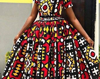 African women dashiki wedding dress / African print fashion dress / ankara women dresses / African maxi dress / ankara maxi dress