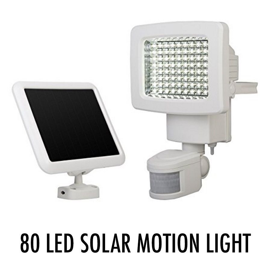 This 80-LED Solar Motion Light is perfect to light the doorway of ...