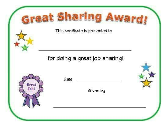 Certificate  Collection Of Certificate For Kids