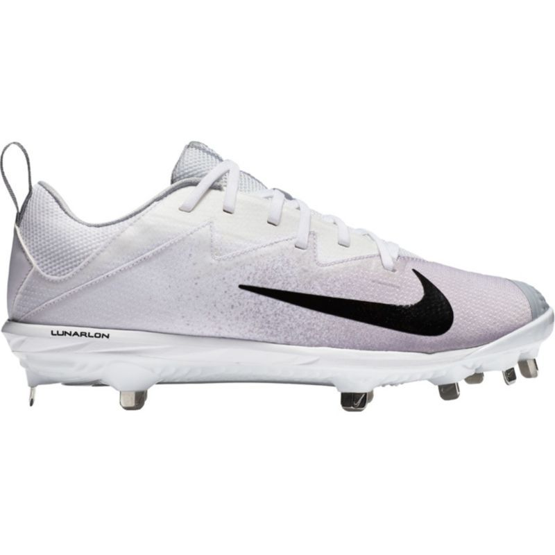 the best attitude 16600 760bd Nike Men s Lunar Vapor Ultrafly Pro Metal Baseball Cleats, Size  15.0, White