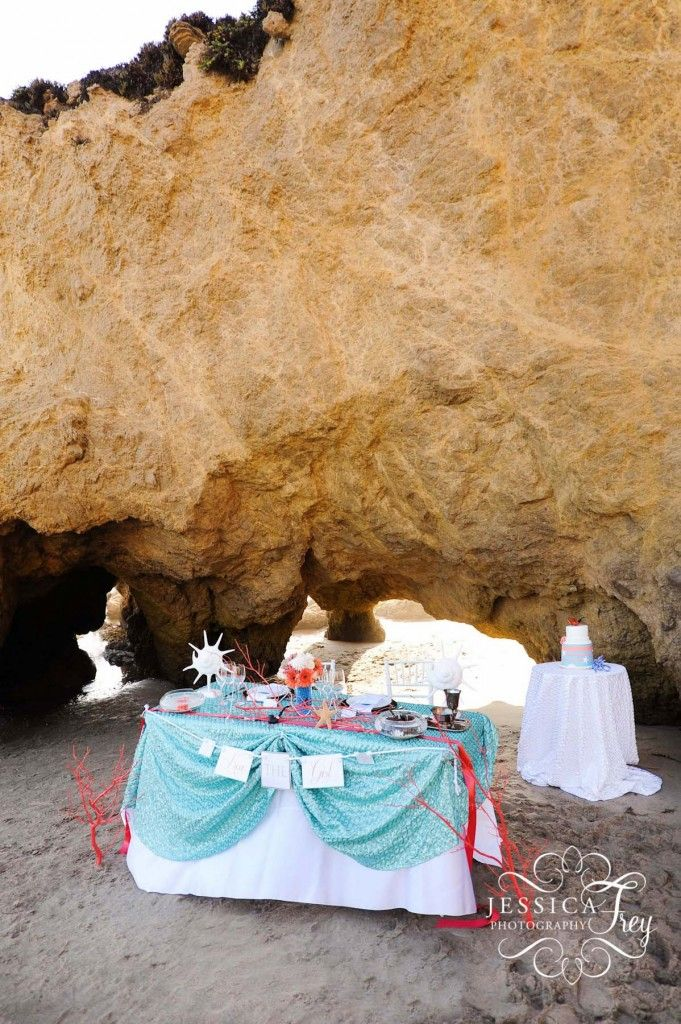 Little Mermaid Themed Wedding Summer Wedding Pinterest Wedding