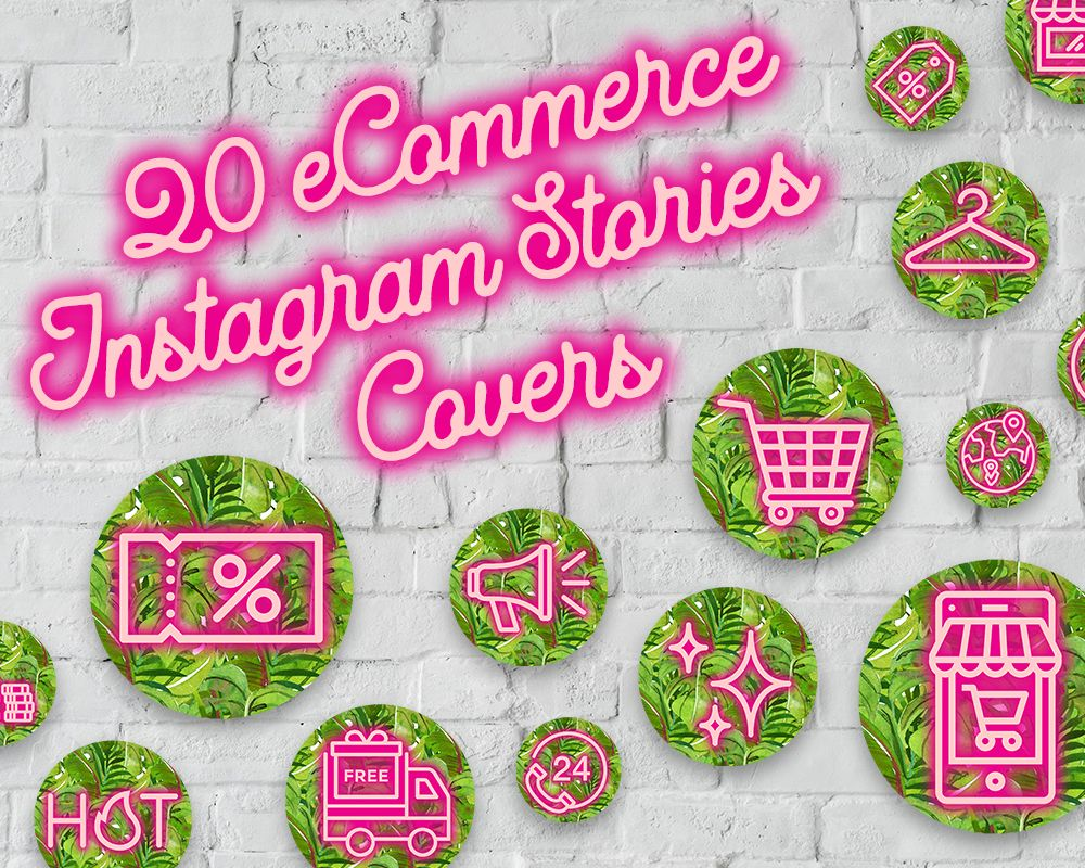 Instagram Stories Highlight Covers Business