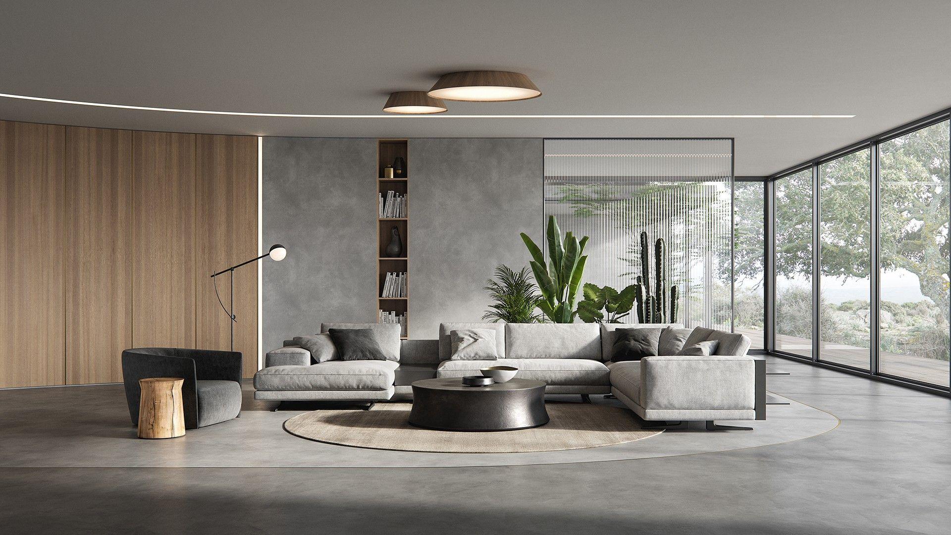 Poliform Living Room Minimal Living Room Modern Contemporary Living Room Contemporary Living Room Design