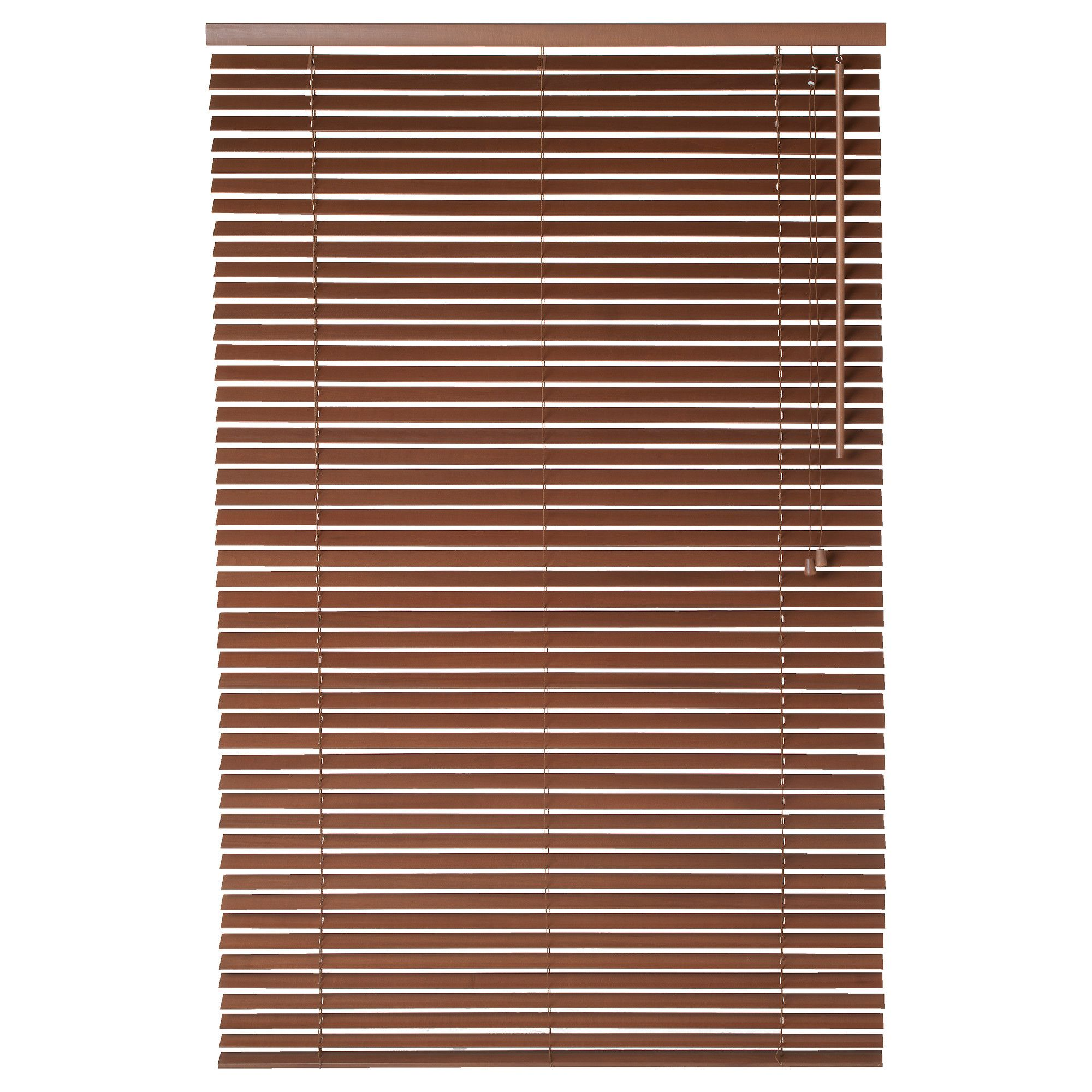 from ikea lindmon venetian blinds in brown simple changes that can transform a room home. Black Bedroom Furniture Sets. Home Design Ideas
