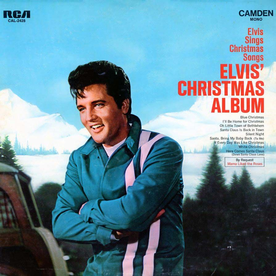 Elvis Presley Christmas Music.Cd Elvis Christmas Album Everything Christmas Elvis