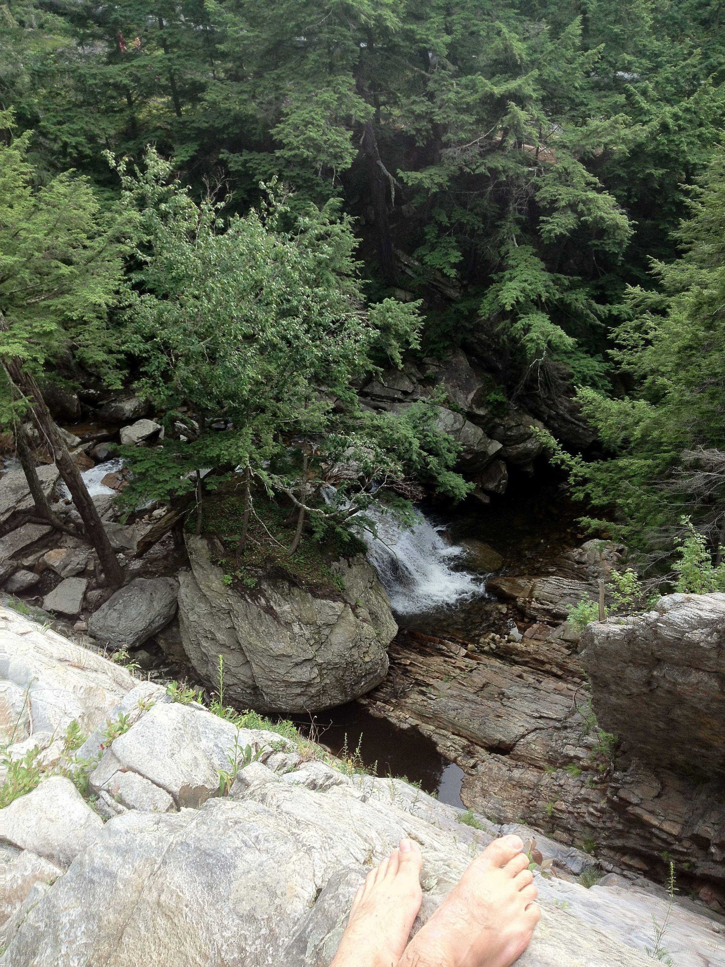 Falls Of Lana Middlebury Vermont Vermont Burlington