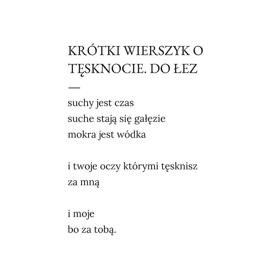 Kaja Kowalewska A Wiersze Cytaty I Poezja