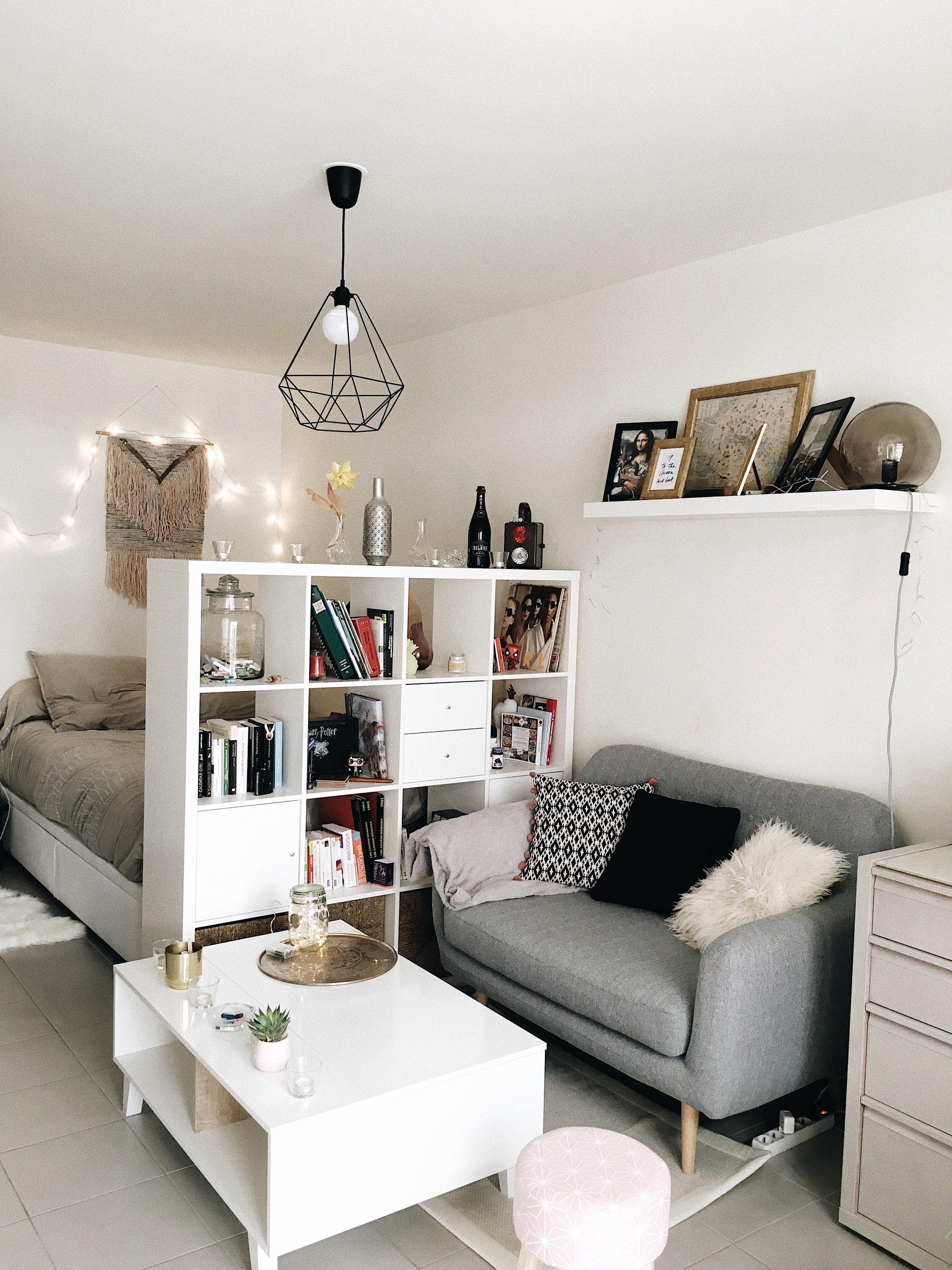 Amenager Studio 15m2 Studio Apartment Decorating Apartment Room Small Apartment Decorating