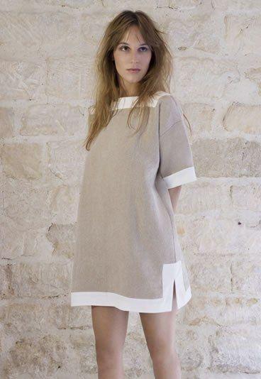 robe ample la prestic ouiston en lin printemps et 2012 robes robes printemps et 2012. Black Bedroom Furniture Sets. Home Design Ideas