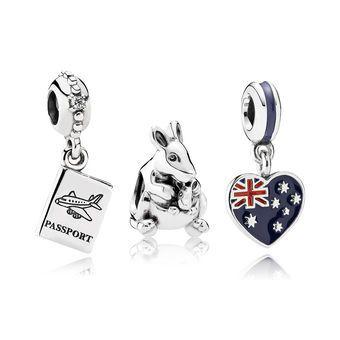 Escape to Australia Charm Set   Charm gift, Pandora shop, Charm set