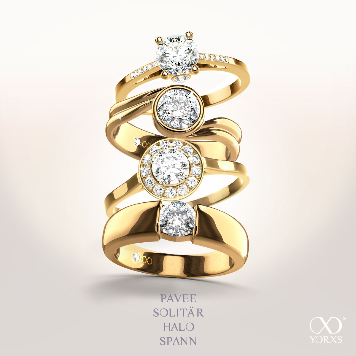 Select your perfect ring type #ring #diamantring #yorxs