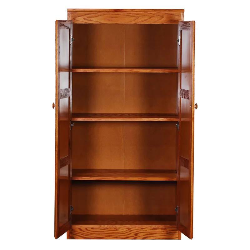 Dining Room Storage Ideas To Keep Your Scheme Clutter Free: Wood Storage Cabinets, Shelves