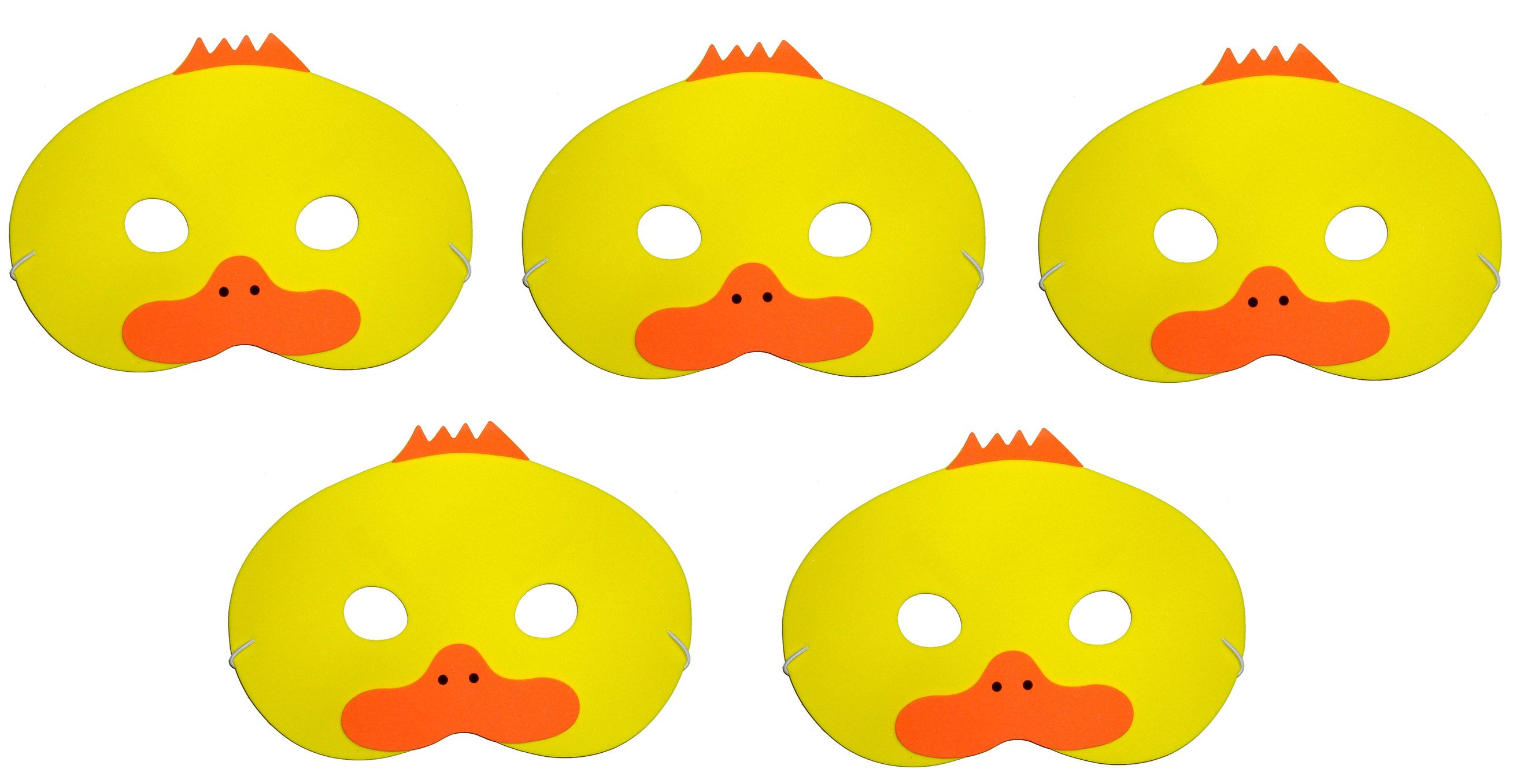 Five Little Ducks Counting Song Foam Masks Room Parents