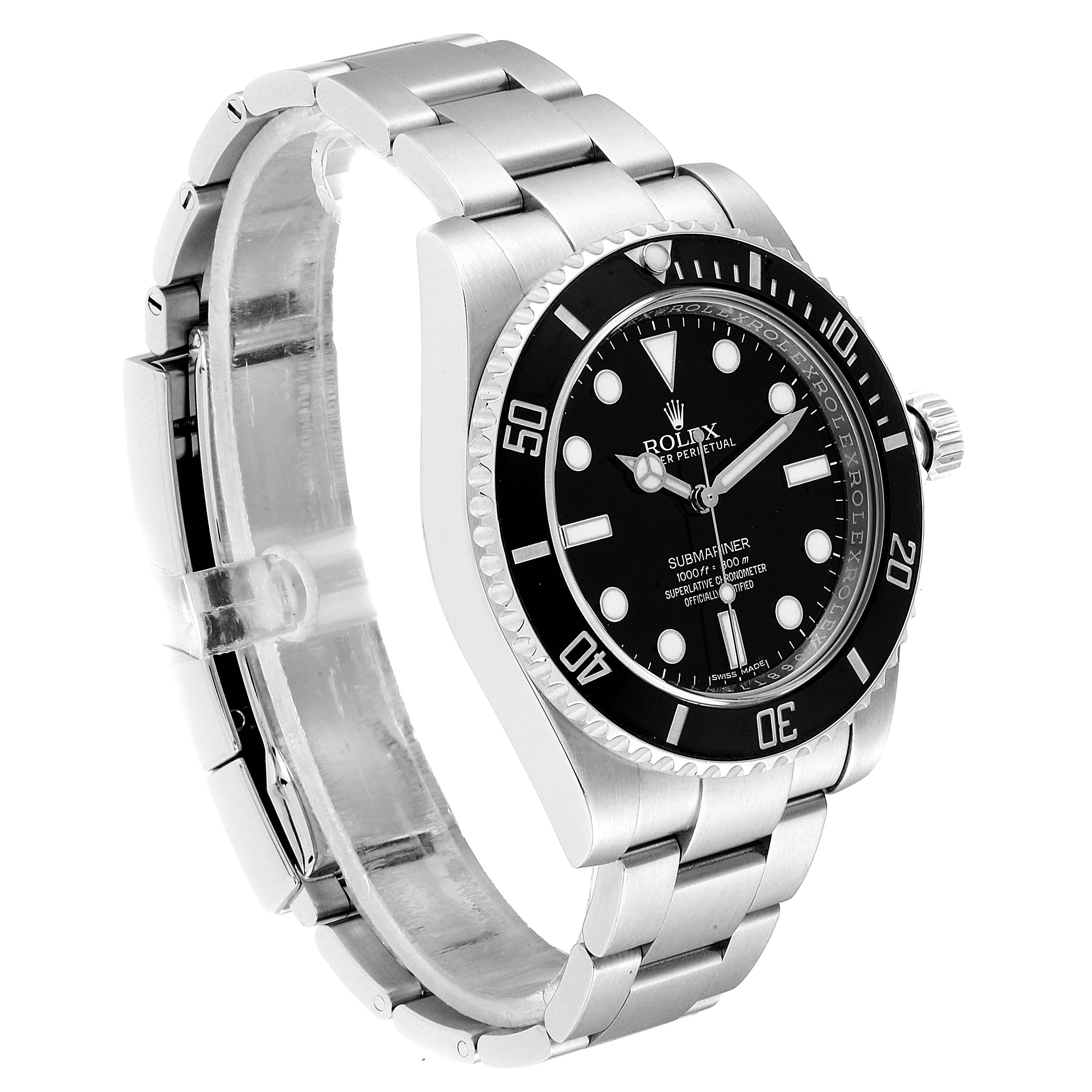 Rolex Submariner Ceramic Bezel Steel Mens Watch 116610 Box Card Swisswatchexpo In 2020