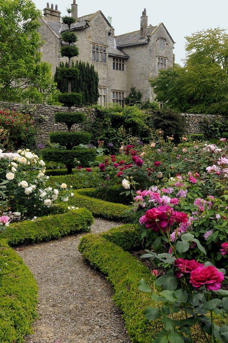 95  Beautiful Modern English Country Garden Design Ideas | Backyard ...