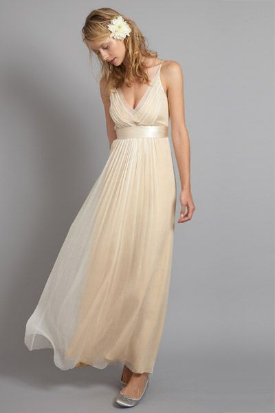 Saja Wedding Gown I Like Being A Bit Unconventional And Choosing A Beautiful Soft Peach Color For Unconventional Wedding Dress Wedding Dress Inspiration Gowns