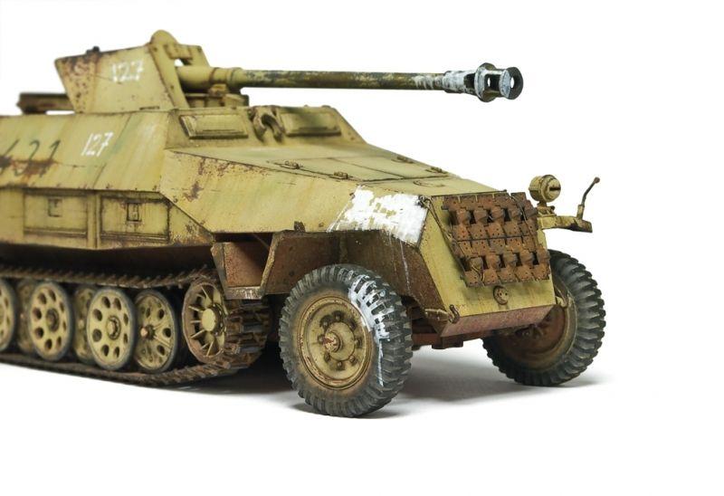 1/48 Sd.Kfz 251/22 Pakwagen - Michael Rinaldi - Putty & Paint
